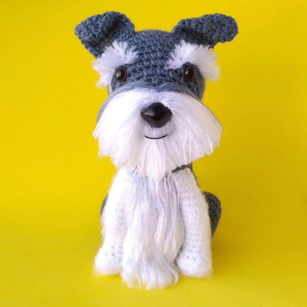 11 Amigurumi Dog Crochet Patterns – Cute Puppies - A More Crafty Life | 1024x1024