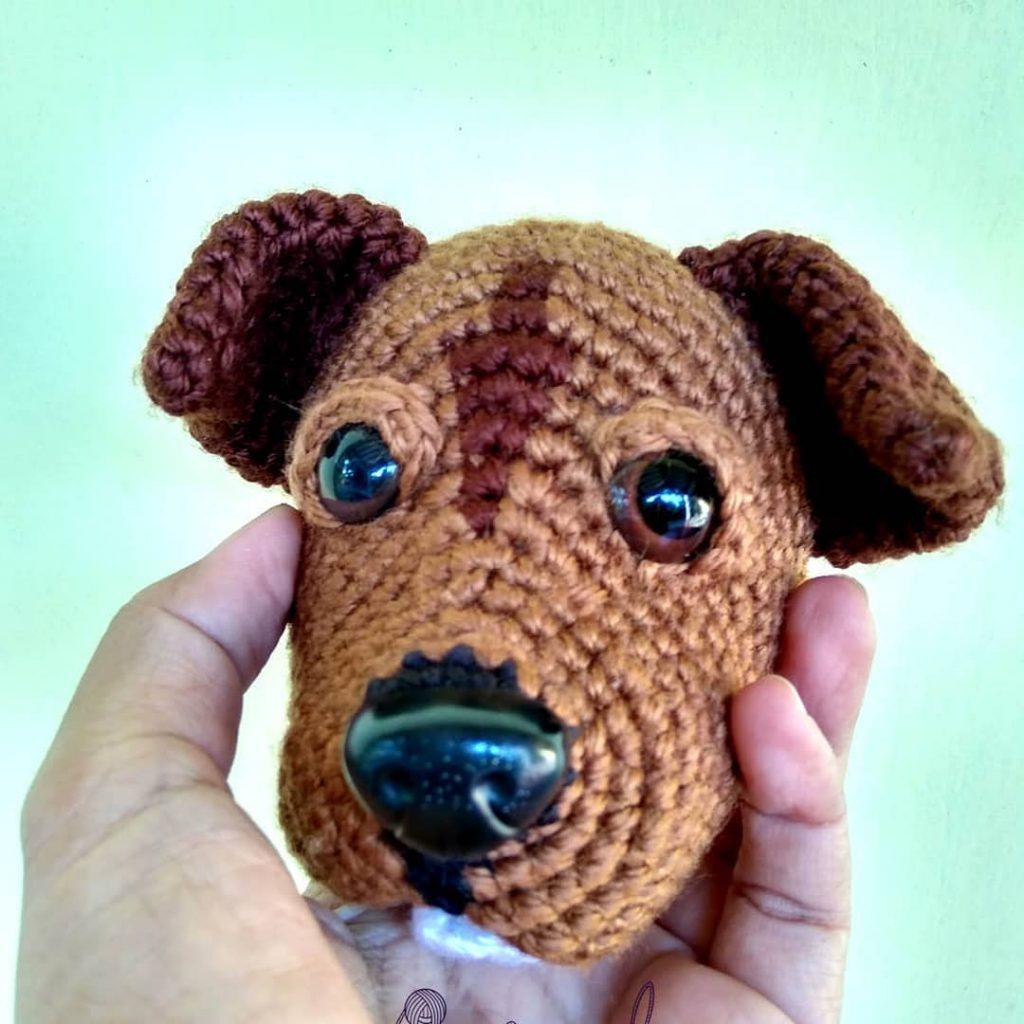 Big Nose Puppy Amigurumi Pattern DIY Amigurumi Dog Pattern | Etsy | 1024x1024
