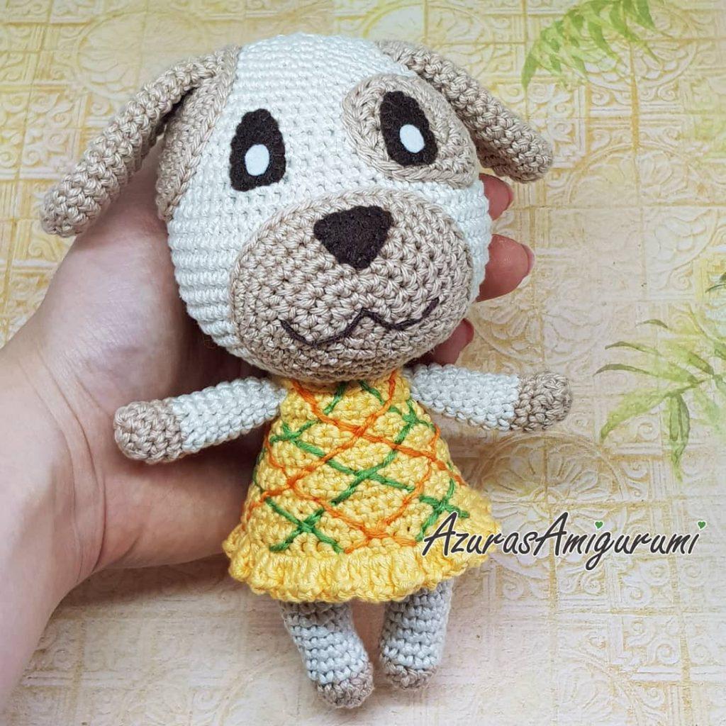 Free Amigurumi Patterns for a Rabbit, Bear, Fox, Wolf & Monkey ... | 1024x1024