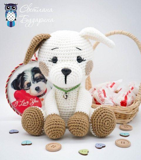 Amigurumi sweet dog pattern | Amiguroom Toys | 542x480