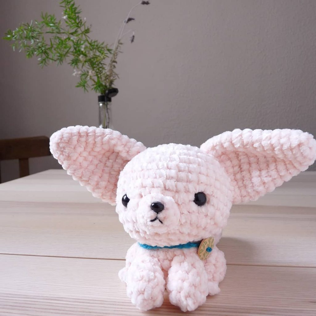 Newton the Fennec Fox amigurumi pattern - Amigurumipatterns.net | 1024x1024