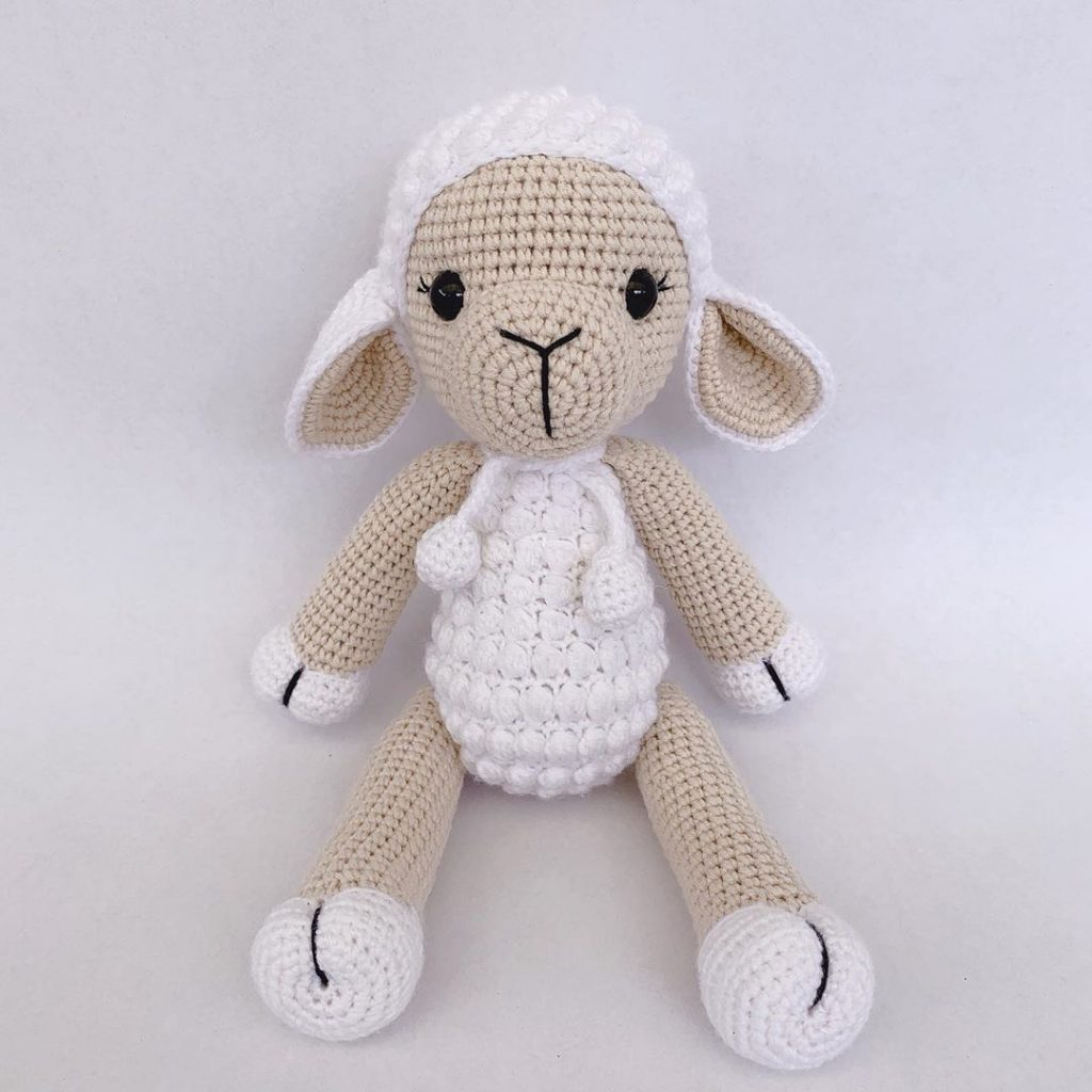 Pattern: Chinese New Year Sheep/Lamb - All About Ami | 1024x1024