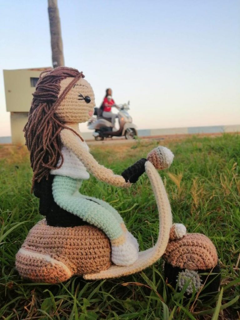 Yamaha's Collection of Free Amigurumi Patterns and Tutorials – Crochet a  Detailed Yacht, Motorcycle, Generator or Electric Scooter | KnitHacker | 1024x768