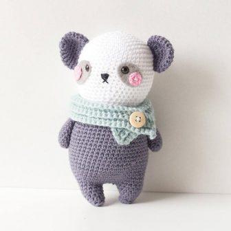 Louis the Panda amigurumi pattern - Amigurumipatterns.net | 794x794