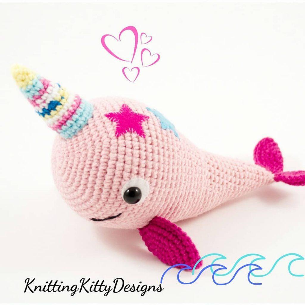 Blue Whale and Narwhal amigurumi patterns - Amigurumi Today | 1024x1024