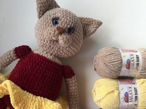 Large Ami Cat crochet pattern - Amigurumi Today | 360x480