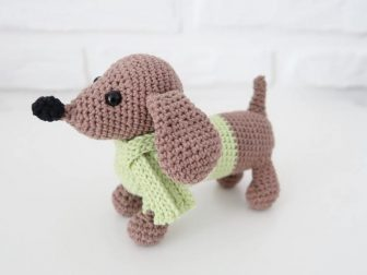 30+ Free Dog Crochet Patterns | AllFreeCrochet.com | 563x750
