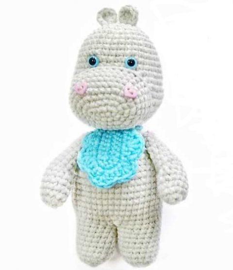 Hippo Amigurumi In Bikini - Free Crochet Pattern • Craft Passion | 557x480