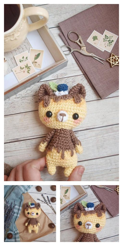 Little Monkey Amigurumi Monkey Crochet Keychain Charm Kawaii ...   1024x512