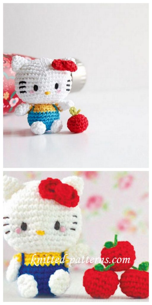 Tiny Kitty: Free pattern - Sayjai Amigurumi Crochet Patterns ~ K ... | 1024x512