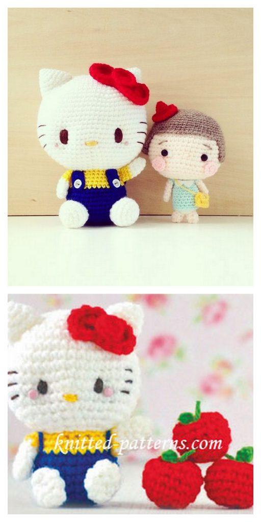 Amigurumi Hello Kitty Tarifi - Amigurumi Oyuncak Tarifleri | 1024x512