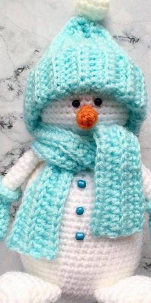 Cuddle Me Snowman amigurumi pattern - Amigurumi Today | 1024x512