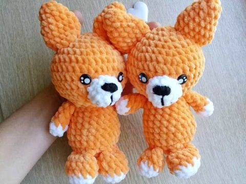Red Fox Amigurumi Crochet | Craft Designs by Eve Leder | 360x480