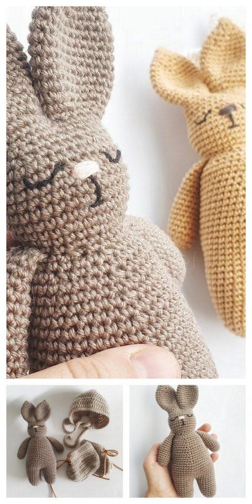 Amigurumi Winter Rabbit – Free Crochet Pattern – Roaming Pixies | 1024x512