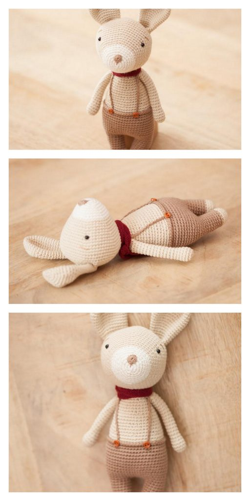 Crochet Amigurumi Rabbit Design Winter Bunny Free Amigurumi ... | 1024x512