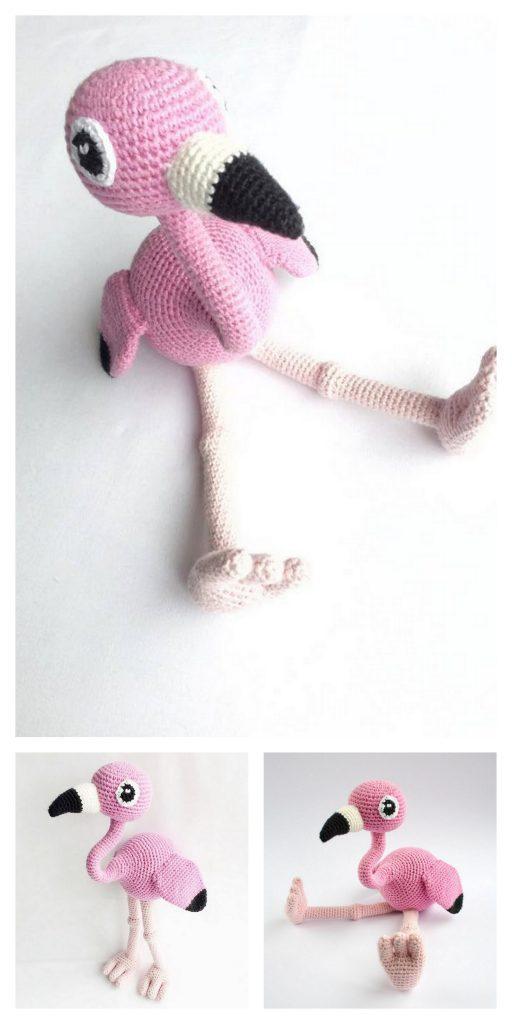 Baby flamingo amigurumi pattern - Amigurumi Today   1024x512