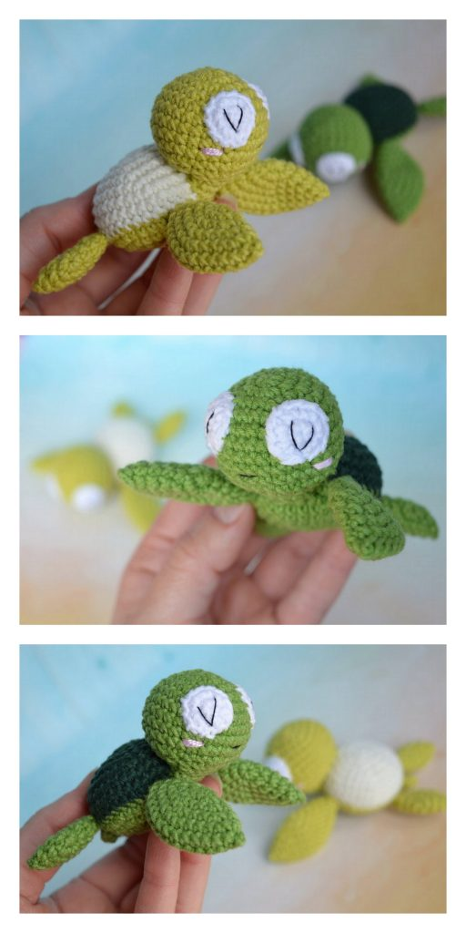 Amigurumi turtle crochet coaster - Amigurumi Today | 1024x512