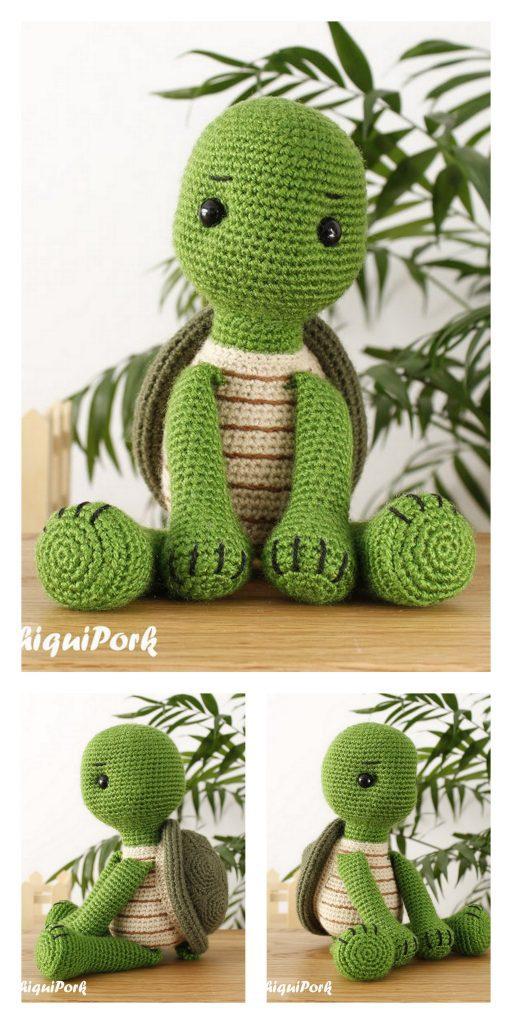 Soft & Dreamy Turtle amigurumi pattern - Amigurumi Today | 1024x512