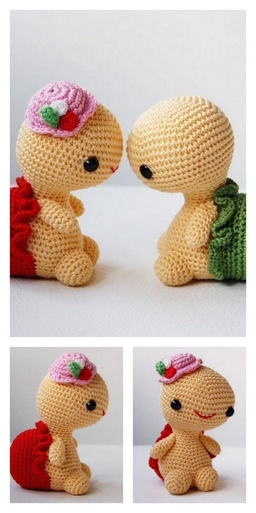 Cute Sea Turtle Amigurumi Pattern | 1024x512