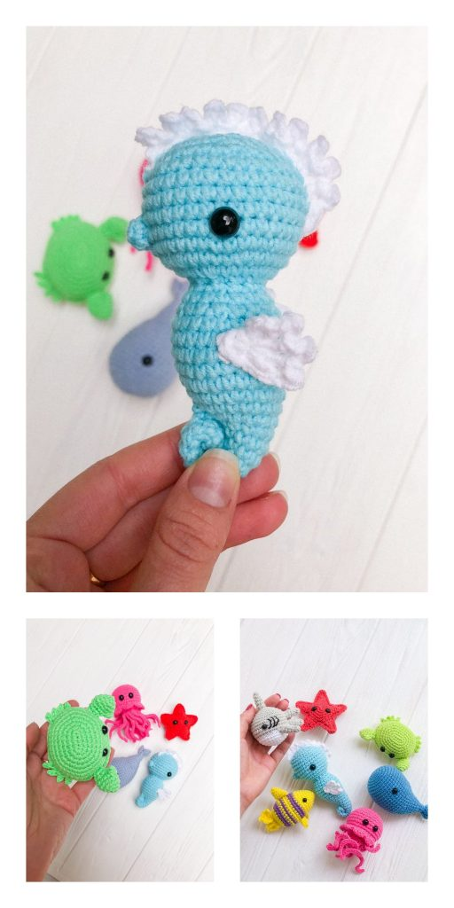 Charly Seahorse - the pattern - Cinnamon Purl | 1024x512