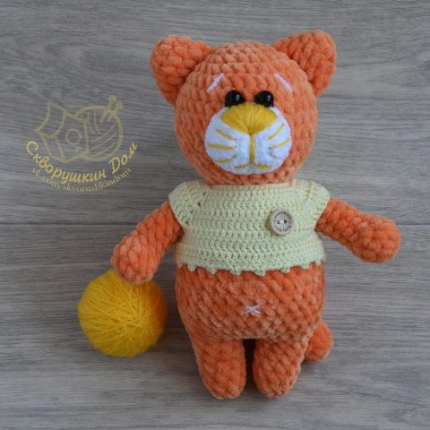 Ravelry: AmiCats Tabby Cat pattern by June Gilbank | 480x480