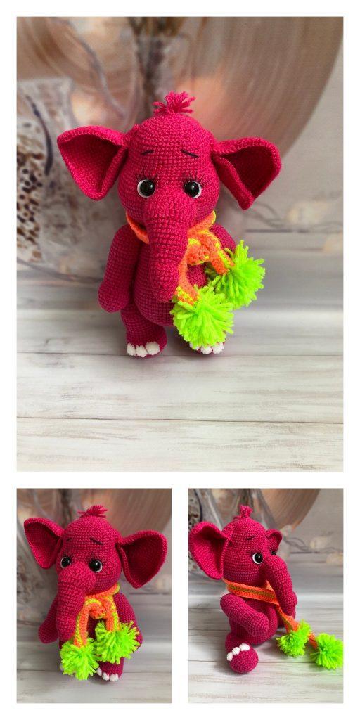 10 Free Crochet Elephant Patterns - Crochet Amigurumi - Amigurumi | 1024x512
