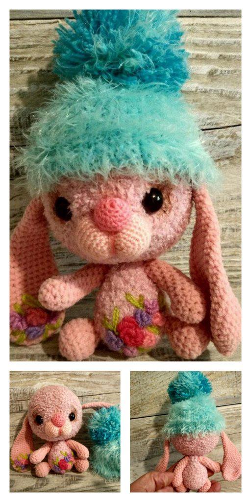 Crochet Ragdoll Spring Bunny Amigurumi Free Pattern - DIY Magazine | 1024x512