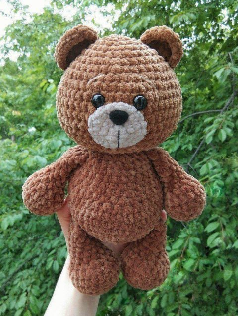 20+ Free Crochet Teddy Bear Patterns ⋆ Crochet Kingdom | 636x480