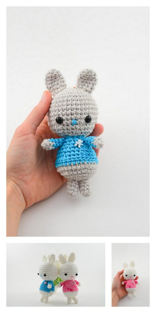Amigurumi Ragdoll Spring Bunny Crochet Free Pattern - Crochet ... | 1024x512