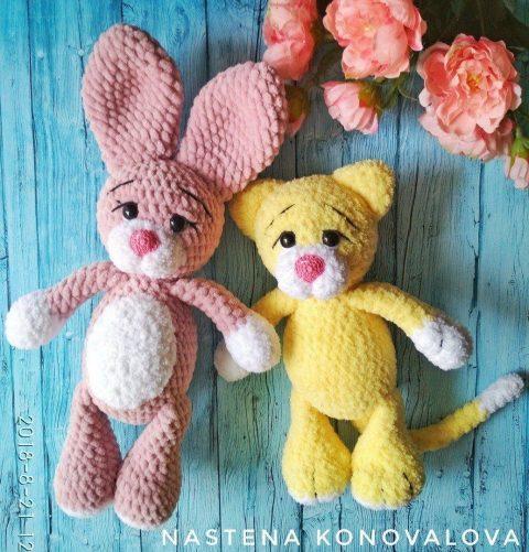 Crochet Amigurumi Valentine Cat Free Pattern - Crochet Amigurumi ... | 501x480