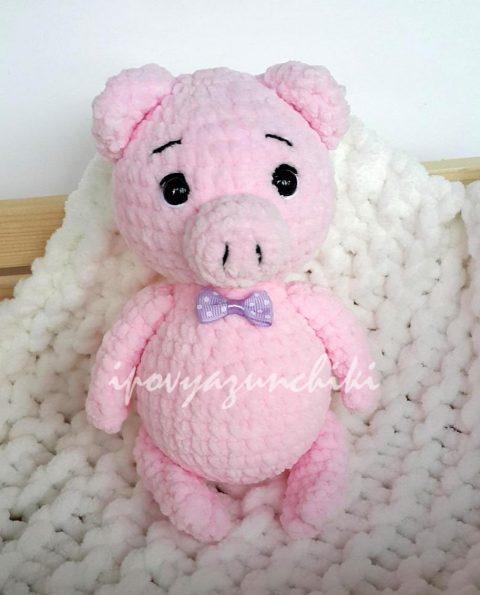 Little pig - free amigurumi pattern | Languages: English, Sp… | Flickr | 595x480