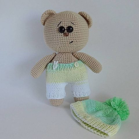 Crochet bear amigurumi | Crochet bear, Crochet bear patterns ... | 480x480